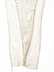 Leinentuch mit Löchern beige 75x300 cm