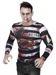 Halloween Shirt Zombie Sträfling