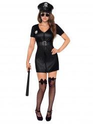 Sexy Cop - Polizistin Kostüm für Damen