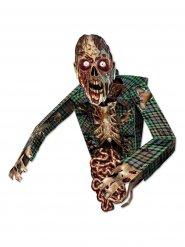 Gruselige Zombie-Figur Halloween Partyzubehör bunt 86cm