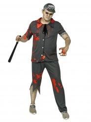 Kostüm Zombie Polizist grau für Männer