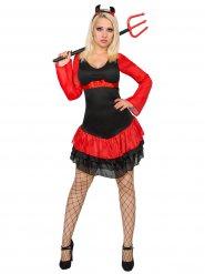 Teufelinnen-Kostüm für Halloween