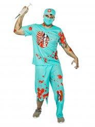 Zombie Chirurg - Kostüm für Herren