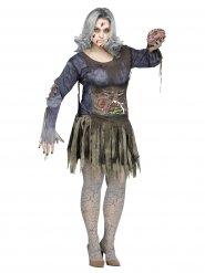 Zombie Halloweenkostüm für Damen Plus Size