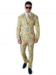 Anzug Minion gelb