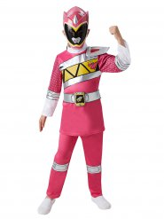 Power Rangers™-Lizenzkostüm für Kinder pink-weiss