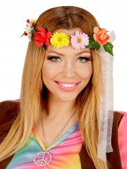Hippie Blumenstirnband für Damen