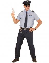Polizisten-Kostüm für Herren blau