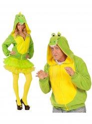 Krokodiljacke grün - gelb für Erwachsene