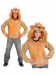 Kapuzenjacke Löwe für Erwachsene