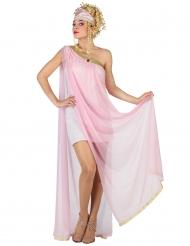 Himmlische Göttin Damenkostüm rosa
