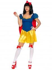 Kostüm Märchenprinzessin blau gelb