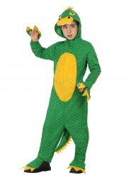 Dinosaurier Babykostüm grün-gelb