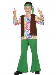 Hippie-Kinderkostüm bunt