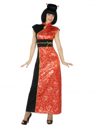 Chinesin Damenkostüm