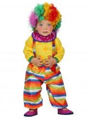 Süsser Zirkus Clown Babykostüm