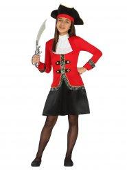 Piratin Seeräuber Kostüm für Mädchen