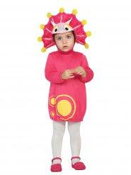 Süsser Dinosaurier-Babykostüm Drache pink