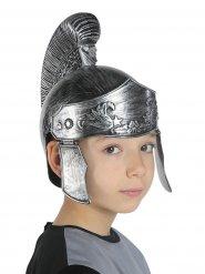 Krieger-Helm Gladiator für Kinder Kostümzubehör grau-silber