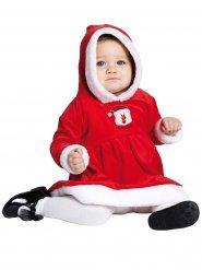 Bezauberndes Weihnachtskostüm für Babys rot-weiss