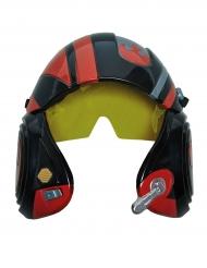 X-Wing Star Wars™-Helm für Kinder Lizenzprodukt schwarz-rot