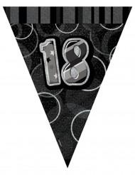 Wimpelgirlande 18 Jahre 2,74 m