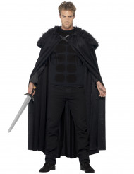 Dunkler-Krieger Kostüm für Herren schwarz