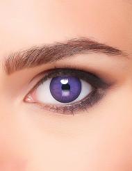 Violette Kontaktlinsen mit Adern für Erwachsene Halloween