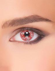 Kontaktlinsen Keltenmotiv rot