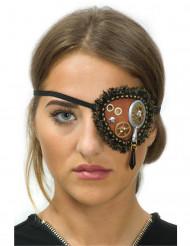 Augenklappe Steampunk mit Spitze