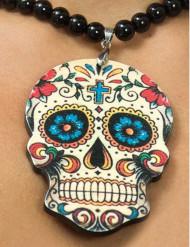 Skelett Halskette dia de los muertos