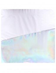 Papierservietten-Tischzubehör 16 Stück perlmuttrfarben 33x33cm