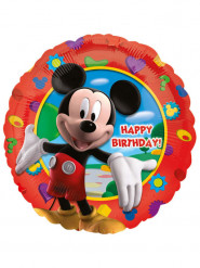 Aluminiumballon Alles Gute zum Geburtstag Mickey Mouse™ 43 cm