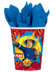 8 Trinkbecher Feuerwehrmann Sam™ 250 ml