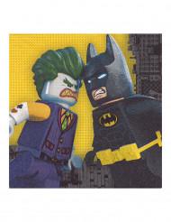 Papier Servietten Lego Batman™ 20 Stück 3 x 33 cm