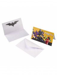 Einladungen und Umschläge lego Batman™ 6 Stück