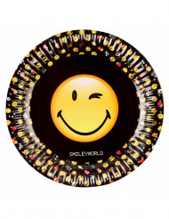 8 Pappteller Smiley Emoticons™