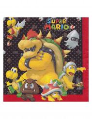 20 Papierservietten Super Mario™ 33 x 33 cm
