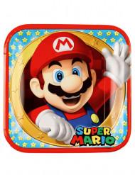 8 Pappteller Super Mario™ 23cm
