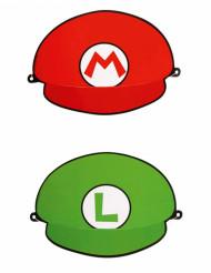 Partyhüte Super Mario™ 8 Stück