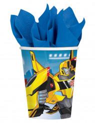 8 Pappbecher Transformatoren Roboter in der Kostüm ™