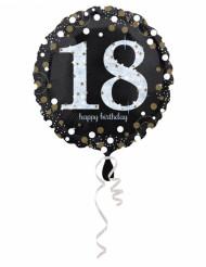 Folienballon Happy Birthday 18 Jahre