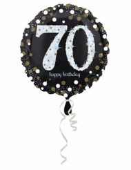 Folienballon 70  Happy Birthday