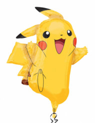 Aluminiumballon Pikachu Pokemon™ 62 x 78cm