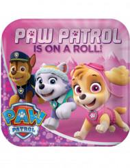 Partyteller Paw Patrol™ 23 cm rosa