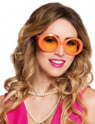 Discobrille orange für Mädchen