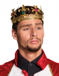 Königliche Krone mit falschen Steinen für Erwachsene