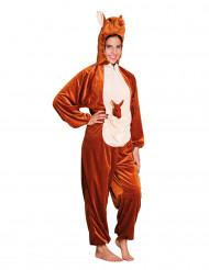 Plüsch Känguru Kostüm für Erwachsene