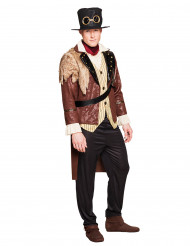 Kapitän Kostüm Steampunk für Herren