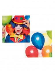 Party Servietten Clown 33 x 33cm